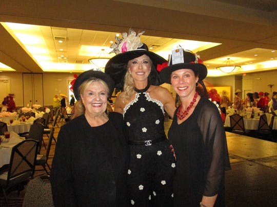 Sally Burdette, Monique Breaux and Caroline Burdette