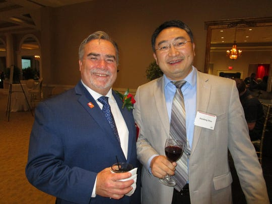 Dr. Terrence Chambers and Xiaodong Zhou