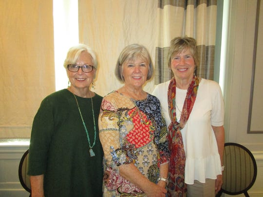 Nancy Rust, Carol Stubbs and Camille Claiborne