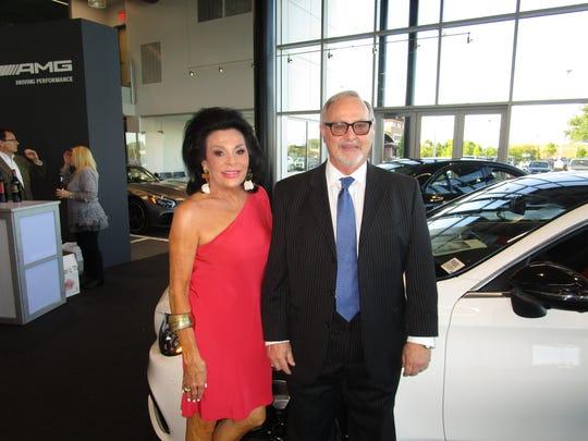 Sharon Moss and Wayne Skinner