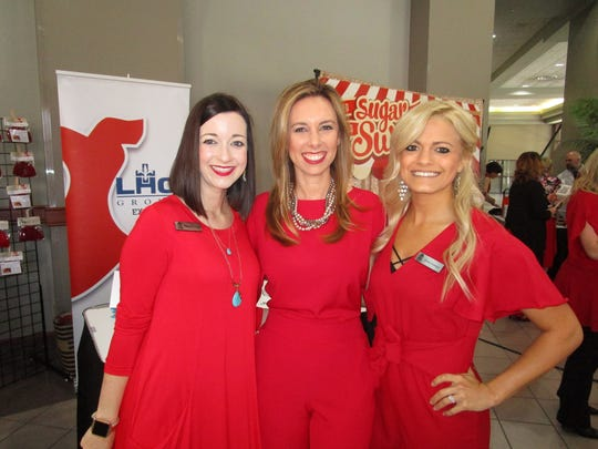 Michele Domingue, Randi Nicole Landry and Kristen Domingue