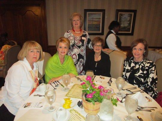 Terri Foret, Judy Kennedy, Karen Wheeler, Linda Alesi and Miriam Bourgeois