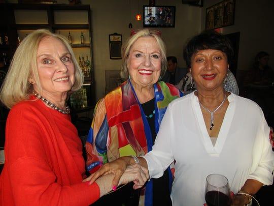 David Bennett, Sally Burdette and Sangeeta Shah