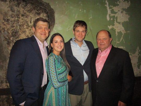 John Roy, Nicole Murphy, Chris Roy and Jim Roy