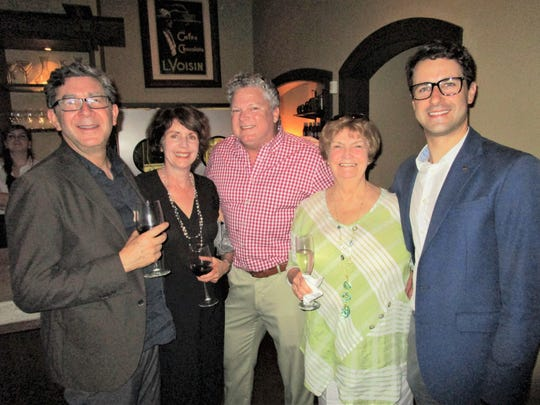 Lige and Michelle Dunaway, Keith Ortego, Rae Logan
