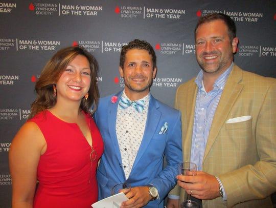 Christina Simon, Damien Chiasson and Mike Howard