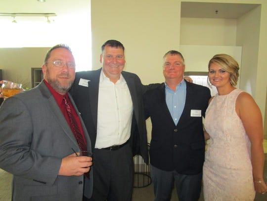 Robert Green, Vaughn Swilley, Tim and Allison Arceneaux