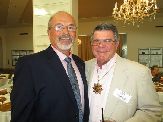 Don Stevenson and John Richard