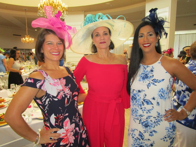Shelley Johnson, Angela Reid and Christine Mire