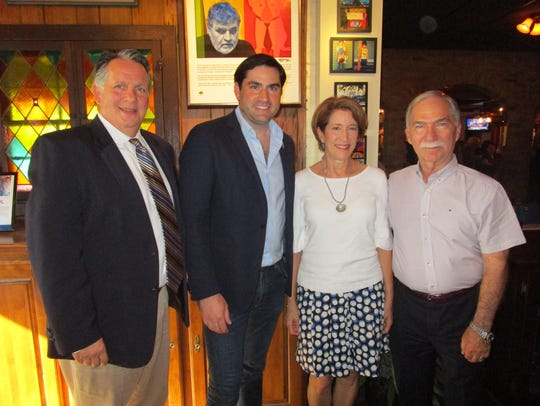 Joel Robideaux, Jacques Rodrigue, Jan and Mike Skinner