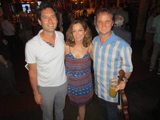 Andree Michot, Kris Wartelle and Louis Michot