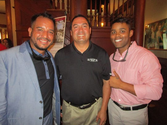 Jean Paul Guidry, Mark Campos and Bradley Lastie