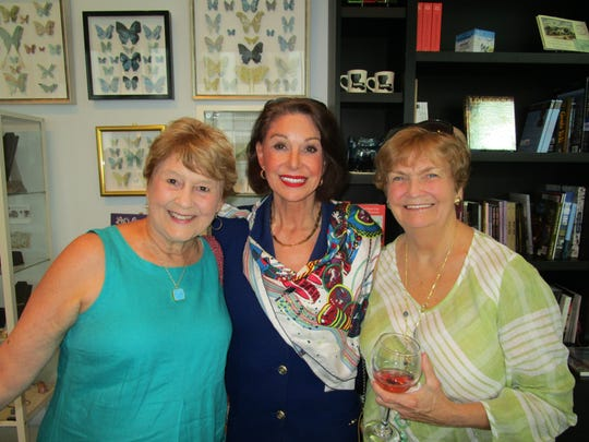 Becky Collins, Carolyn French and Rae Logan