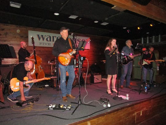 The Band 'On Call' played at a recent fundraiser for