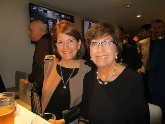 Monique Boulet and Kathleen Blanco