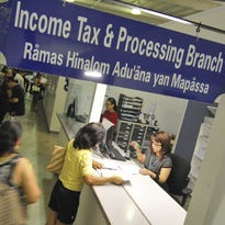 The Guam Department of Revenue and Taxation's Income Tax and Processing Branch is shown in this file photo.