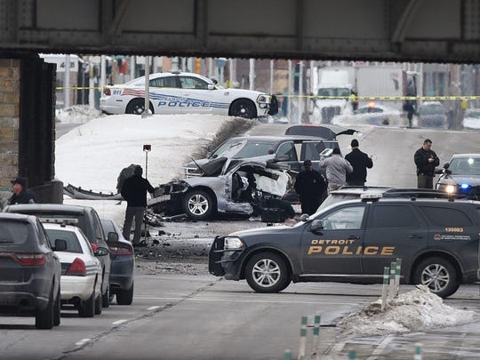 Officer Darren Weathers crashed his car at Michigan Avenue and Clark. Investigators aren't sure if he was part of a training exercise.