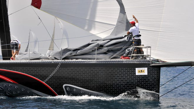 Il Mostro was the first boat to reach Mackinac Island in 2013, smashing the Shore Course record. With new race rules that force faster boats to the Cove Island Course, that record may never be broken.