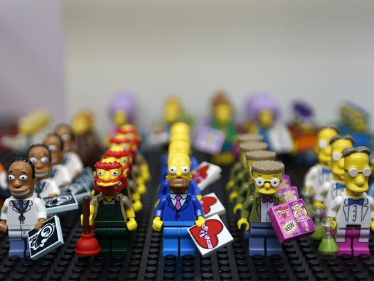 LEGO minifigures of Simpsons characters are available