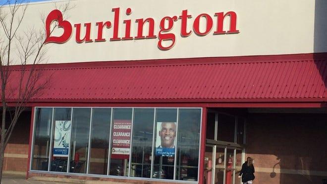 A shopper enters a Burlington Coat Factory store in Cherry Hill Monday.
