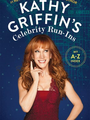 'Kathy Griffin's Celebrity Run-Ins' book cover