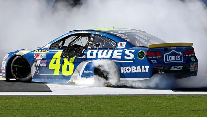 Is Jimmie Johnson en route to a seventh title?