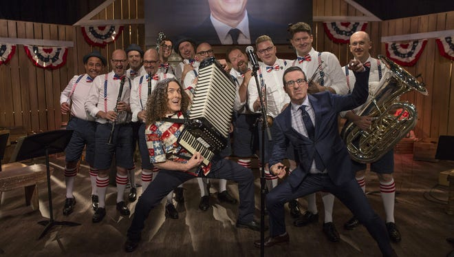 Weird Al Yankovic helped John Oliver serenade North Korea in one of the show's closing segments.