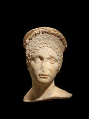 Female portrait head (Carthage, Tunisia), about 100