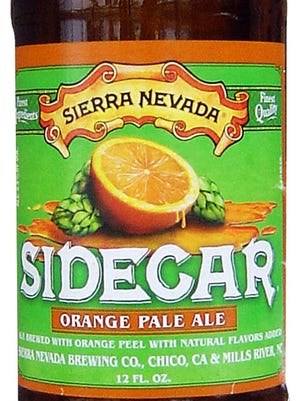 Sidecar Orange Pale Ale, from Sierra Nevada Brewing Co. in Chico, Calif., is 5.3% ABV.