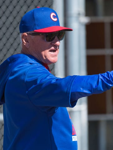 Joe Maddon enters his first season as manager of the