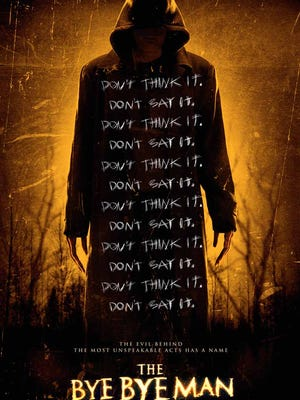"""The poster for """"The Bye Bye Man."""""""