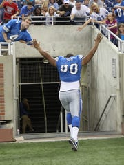 Lions defensive tackle Ndamukong Suh on Sept. 1, 2010, during his rookie season.