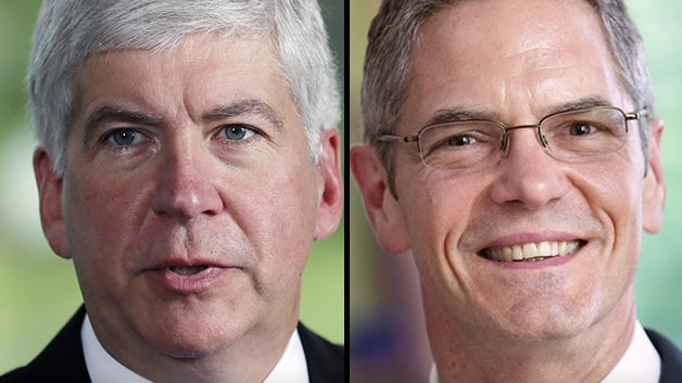 Republican Gov. Rick Snyder and Democratic challenger Mark Schauer agree on two things: Education is a priority and the success of schools is vital to Michigan's future.