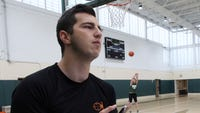Solomon Schechter will be the first Section 1 school to use a new basketball shot-tracking device next season.