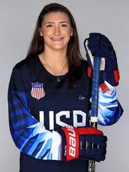 Megan Keller of the United States Women's Hockey team