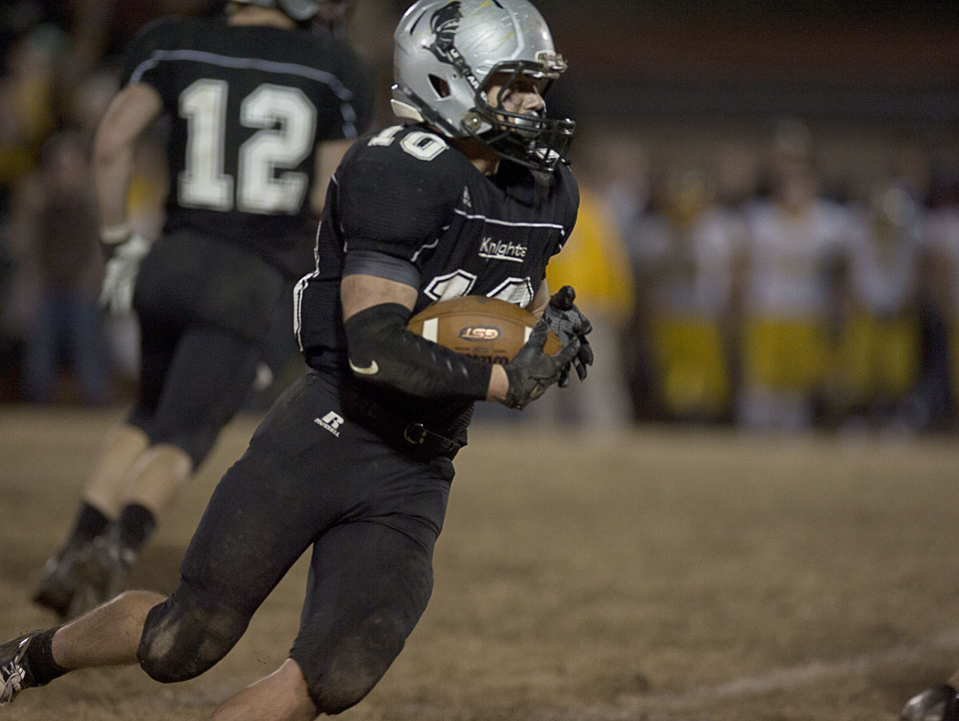 Lane Millsaps had two receiving touchdowns for Robbinsville on Friday.