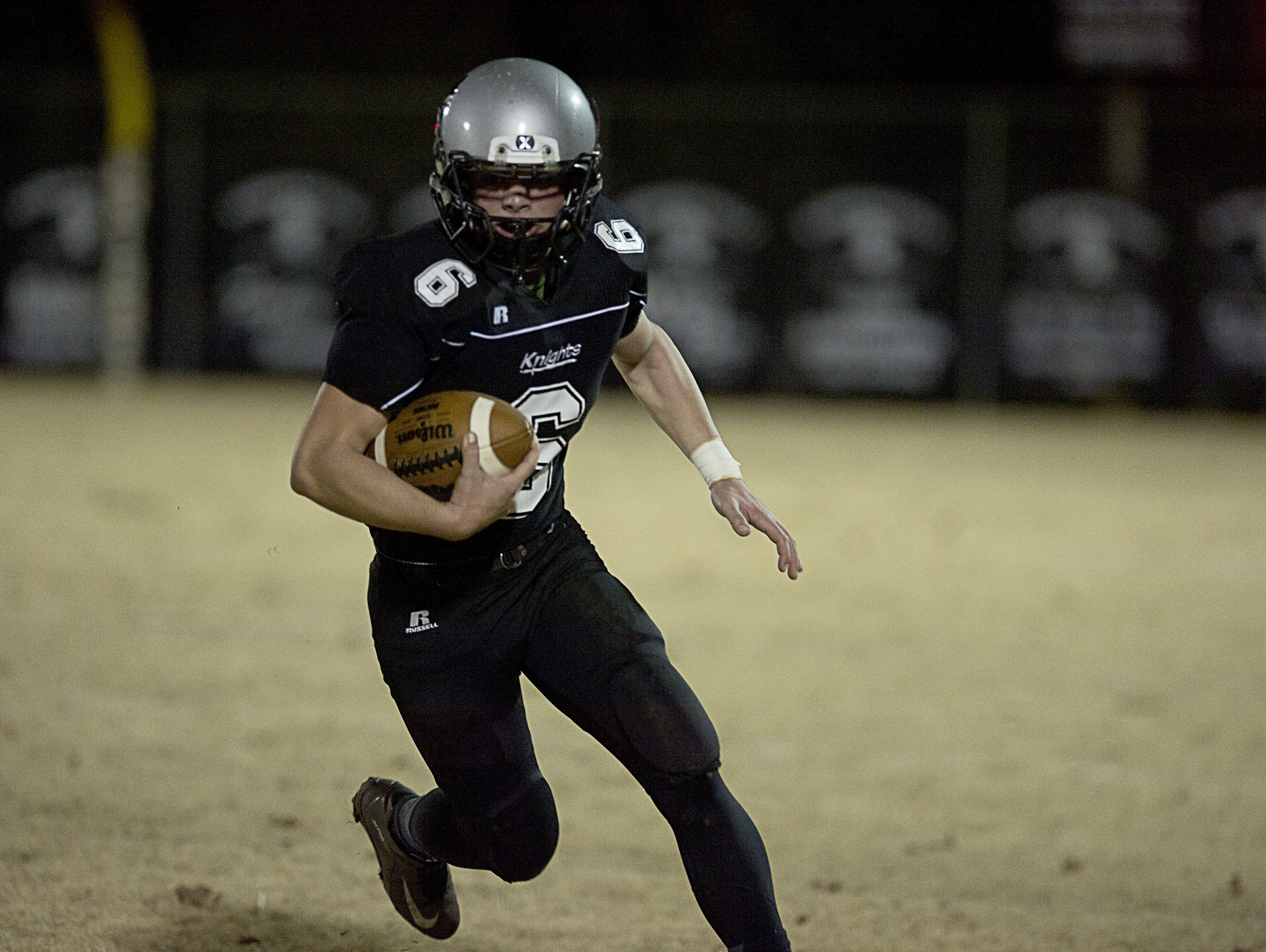 Kyler Brooks and Robbinsville are on the road for Friday's 1-A Western Regional championship game.