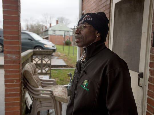 Lee Walker Heights resident Fred Lindsey, 55, shares his opinion about changes facing the Lee Walker Heights neighborhood in Asheville's South Slope. Next month, the Housing Authority for the City of Asheville intends to go before city council to share its plans to tear down and rebuild the city's oldest public housing development as mixed-income housing.