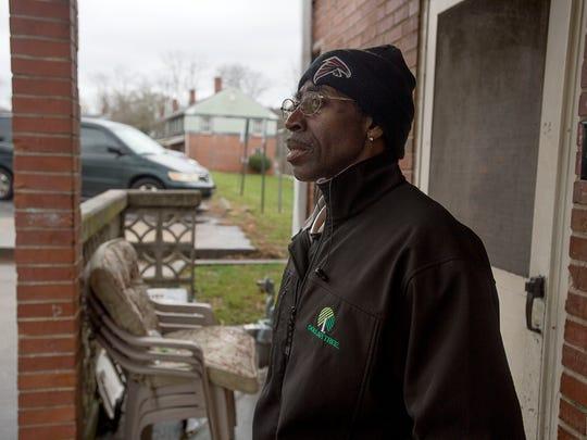Lee Walker Heights resident Fred Lindsey, 55, shares