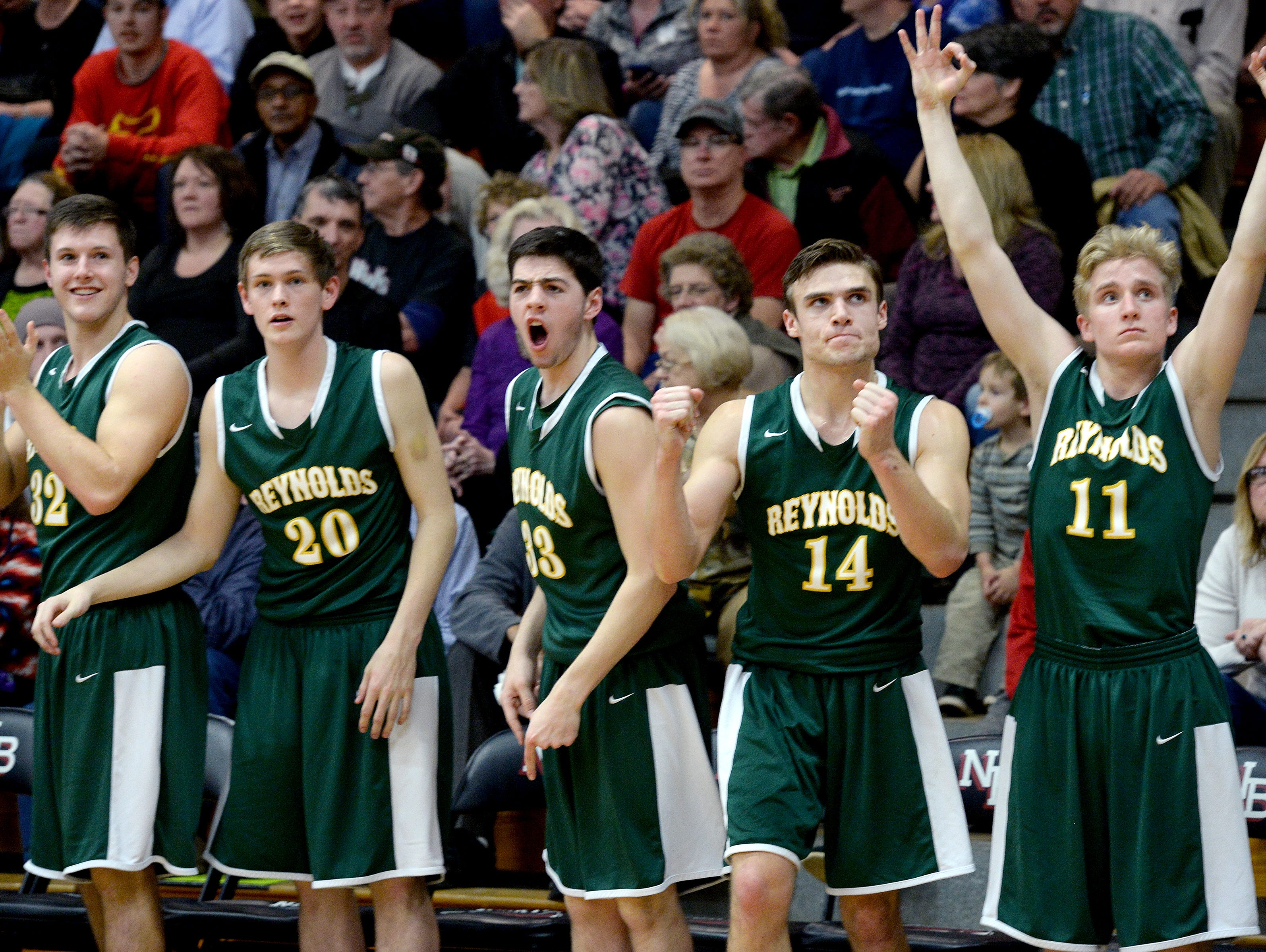 The Reynolds boys have advanced to Saturday's third round of the NCHSAA 3-A basketball playoffs.