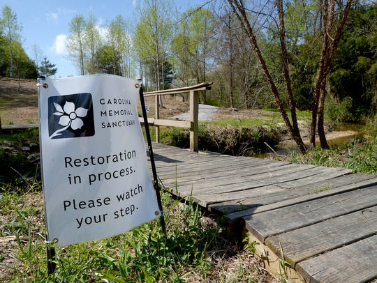 Carolina Memorial Sanctuary in Mills River is the first