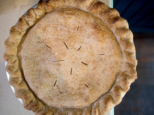 Artist and documentarian Amy Evans uses pie and cooking