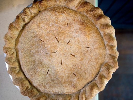 Artist and documentarian Amy Evans uses pie and cooking to inspire her art to tell stories.