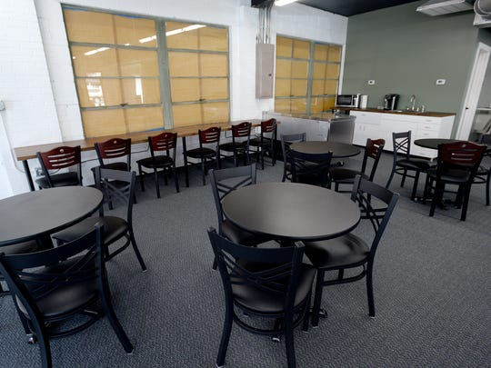 AVL Coworking will open on Monday in its newly remodeled space on Haywood Road in West Asheville. The space provides tables, desks and a lounge area all for different tiers of month-to-month membership.