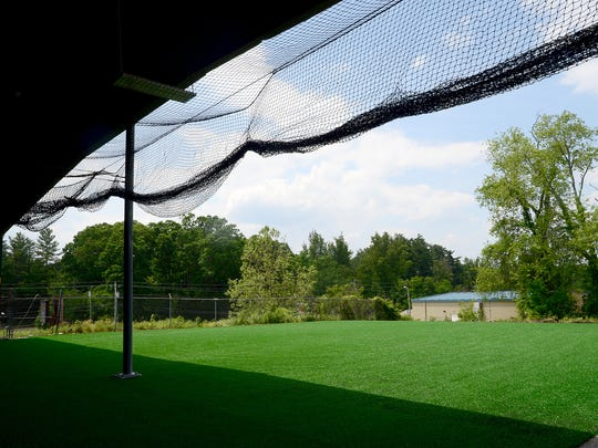 D-BAT, a baseball and softball training facility, has both indoor and outdoor turf-covered space to provide, camps, clinics and lessons to athletes.