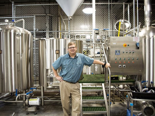 John Lyda, formerly of Highland Brewing, teaches at the Asheville Buncombe Technical Community College's Craft Beverage Institute.