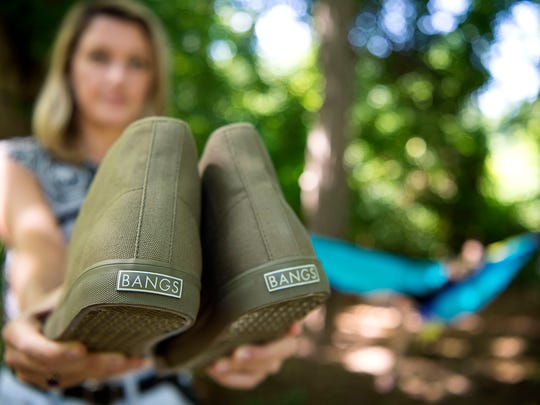 BANGS Shoes is a local shoe company that uses 20% of its net profit to help start small businesses.