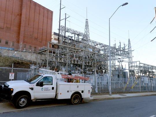 Duke Energy Progress has a substation behind Harrah's Cherokee Center-Asheville.