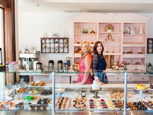 Sisters Zeynep Ozdemir (left) and Ayca User own Antoinette Boulangerie, a Parisian-inspired pastry shop, in Red Bank.