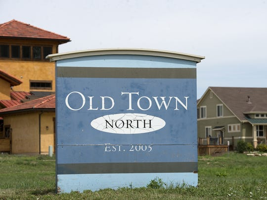 The Old Town North neighborhood is shown in this August